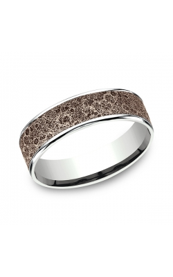 Benchmark Two Tone Comfort-Fit Design Wedding Ring CFTBP836562914KRW08 product image
