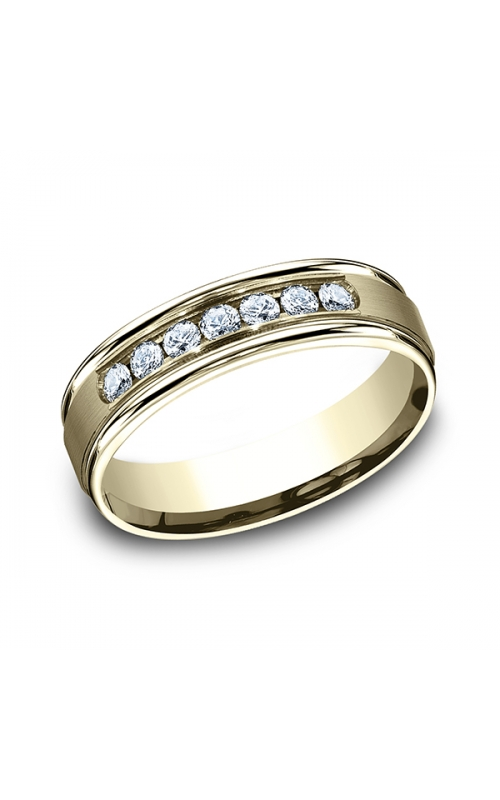 Benchmark Comfort-Fit Diamond Wedding Ring RECF51651614KY13.5 product image