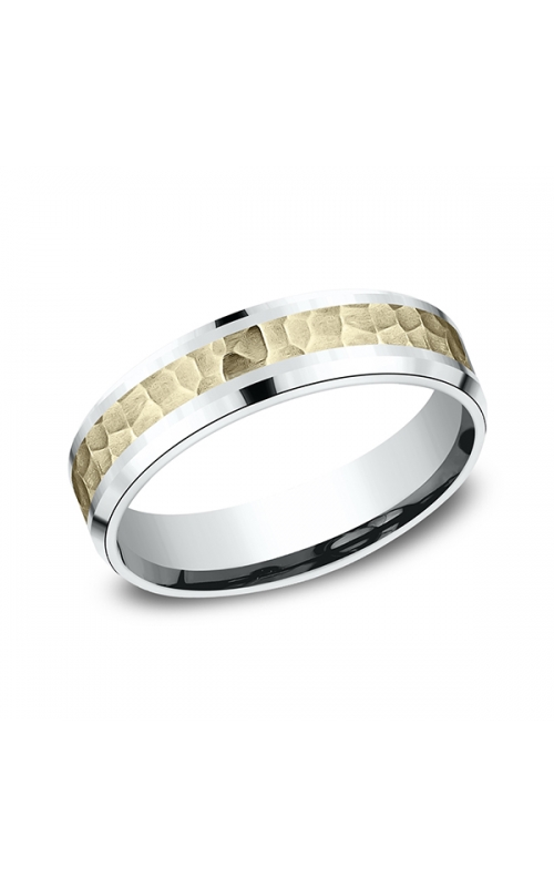 Benchmark Designs Two Tone Comfort-Fit Design Wedding Band CF20630314KWY06 product image