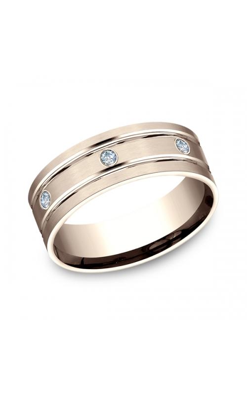 Benchmark Diamonds Comfort-Fit Diamond Wedding Band CF52813814KR04 product image