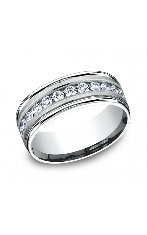Benchmark Comfort-Fit Diamond Wedding Band RECF51851614KW04 product image