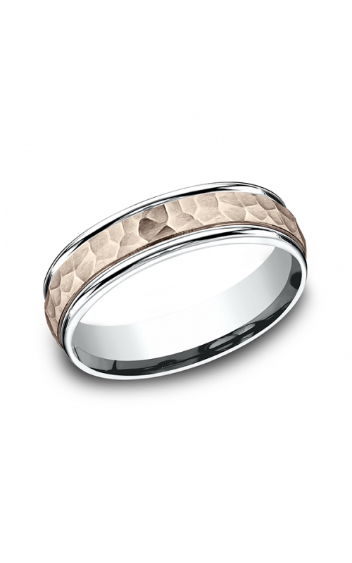 Benchmark Two Tone Comfort-Fit Design Wedding Band CF21630314KRW06 product image