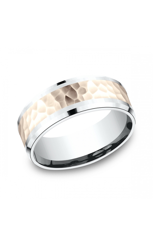 Benchmark Two Tone Comfort-Fit Design Wedding Ring CF22859114KRW06 product image