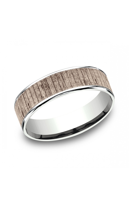 Benchmark Two Tone Comfort-Fit Design Wedding Ring CFT836563014KRW06 product image