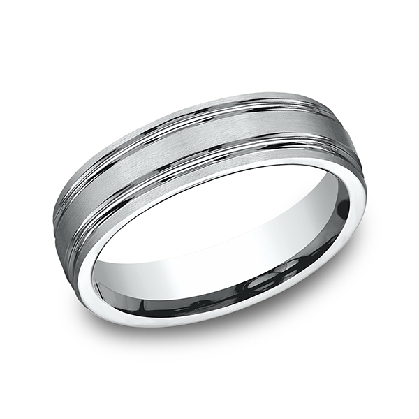 Benchmark Designs Comfort-Fit Design Wedding Band CF56444PT14 product image