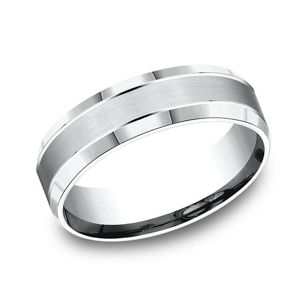 Benchmark Comfort-Fit Design Wedding Band CF6643614KW04 product image