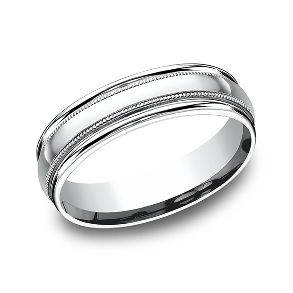 Benchmark Comfort-Fit Design Wedding Band RECF760114KW04 product image