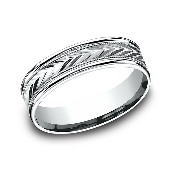 Benchmark Comfort-Fit Design Wedding Band RECF760314KW04 product image
