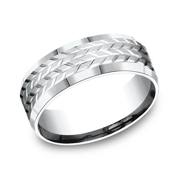 Benchmark Designs Comfort-Fit Design Wedding Band CF6833914KW04 product image