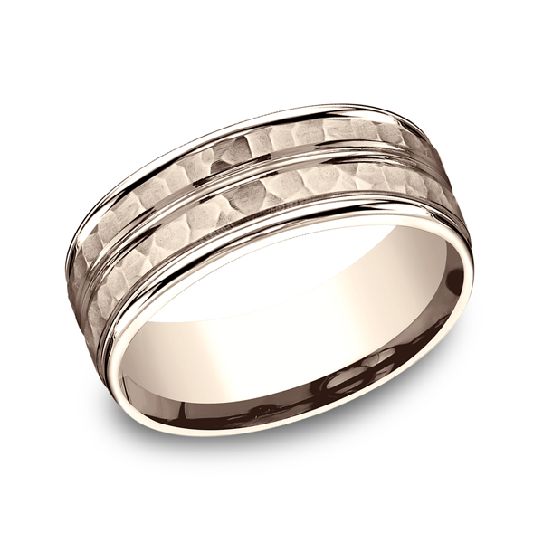 Benchmark Designs Comfort-Fit Design Wedding Ring RECF5818514KR04 product image