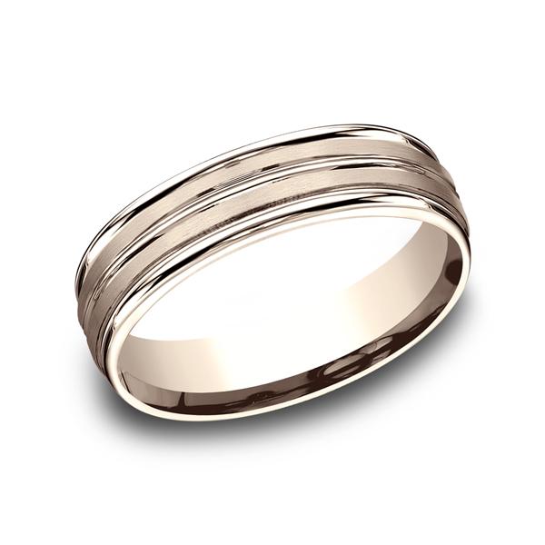 Benchmark Designs Comfort-Fit Design Wedding Ring RECF5618014KR04 product image