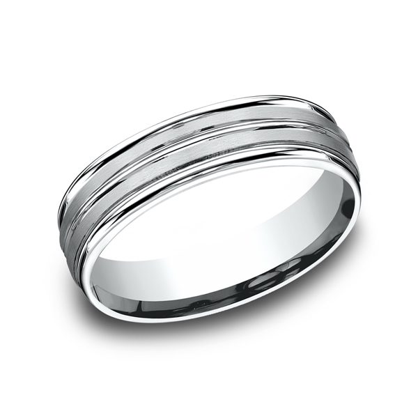 Benchmark Comfort-Fit Design Wedding Ring RECF5618014KW04 product image
