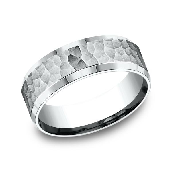 Benchmark Comfort-Fit Design Wedding Ring CF8750914KW04 product image