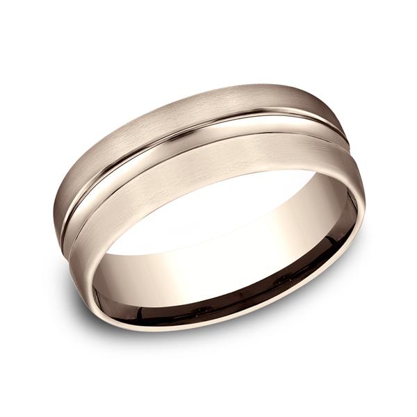 Benchmark Designs Comfort-Fit Design Wedding Ring CF71750514KR04 product image