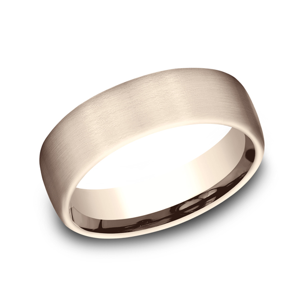 Benchmark Designs Comfort-Fit Design Wedding Ring CF71656114KR04 product image