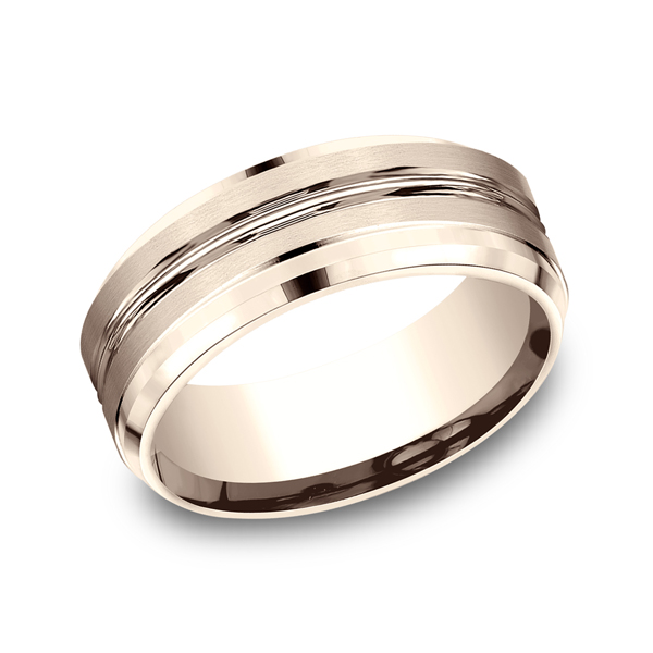 Benchmark Designs Comfort-Fit Design Wedding Ring CF6848414KR04 product image