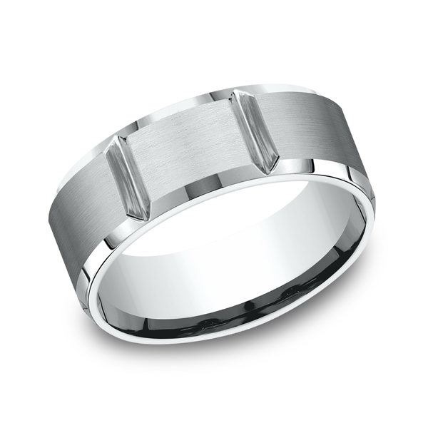 Benchmark Comfort-Fit Design Wedding Ring CF6844914KW04 product image