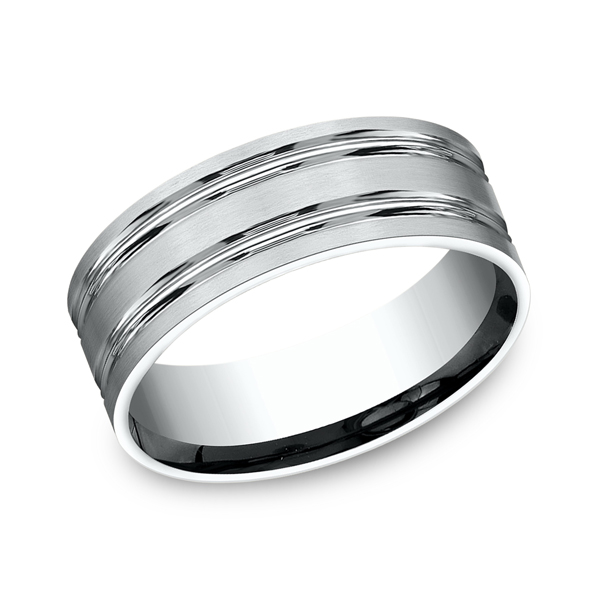 Benchmark Comfort-Fit Design Wedding Ring CF6842314KW04 product image