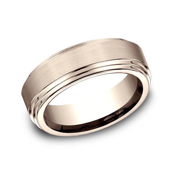 Benchmark Designs Comfort-Fit Design Wedding Ring CF6810014KR04 product image