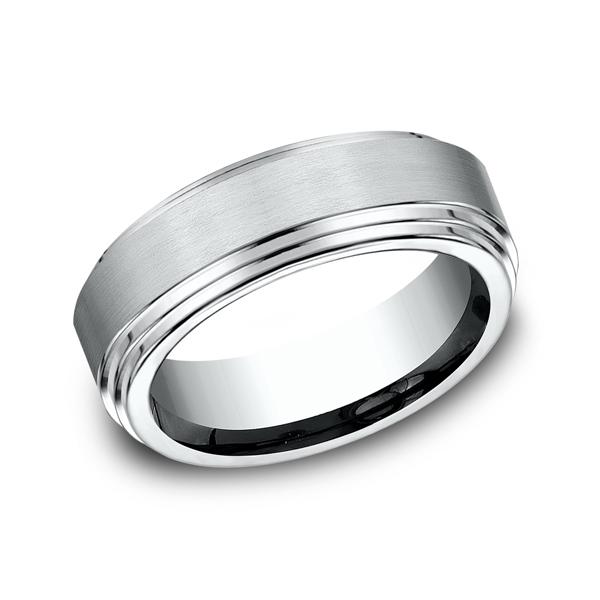 Benchmark Comfort-Fit Design Wedding Ring CF6810014KW04 product image
