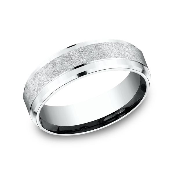 Benchmark Comfort-Fit Design Wedding Ring CF6793114KW04 product image