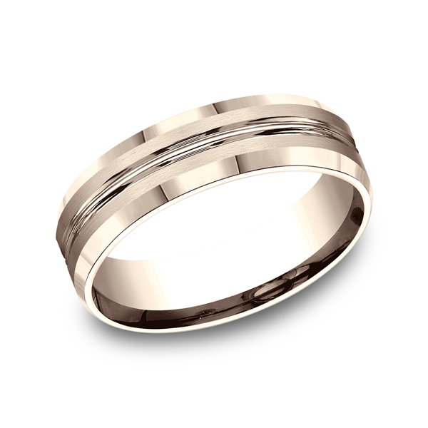 Benchmark Designs Comfort-Fit Design Wedding Ring CF6643914KR04 product image