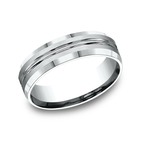 Benchmark Comfort-Fit Design Wedding Ring CF6643914KW04 product image