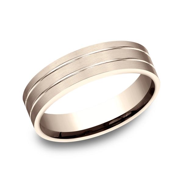 Benchmark Designs Comfort-Fit Design Wedding Ring CF6633414KR04 product image
