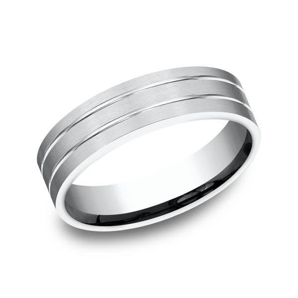 Benchmark Comfort-Fit Design Wedding Ring CF6633414KW04 product image