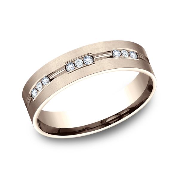 Benchmark Diamonds Comfort-Fit Diamond Wedding Band CF52653314KR04 product image