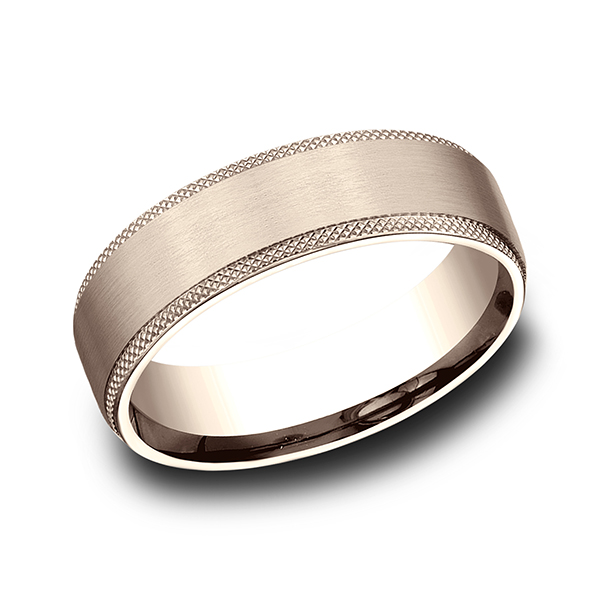 Benchmark Comfort-Fit Design Wedding Band CF76574914KR04 product image