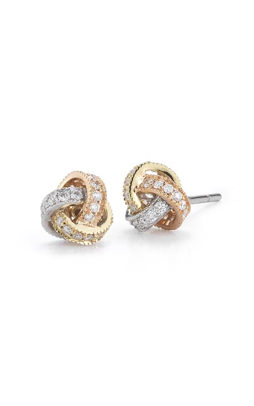 Beny Sofer Earrings Earring ET16-80TRI-B product image