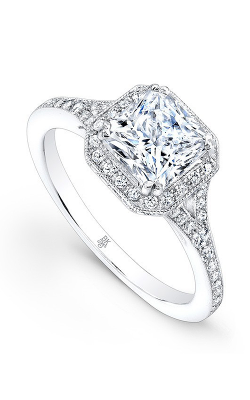 Beverley K Split Shank Engagement ring R1191A-DDCZ product image