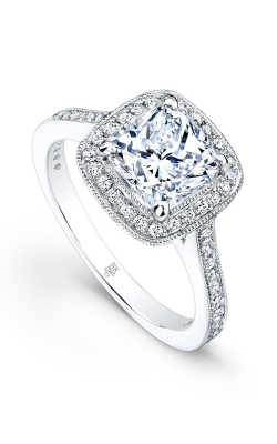 Beverley K Halo Engagement Ring R1185A-DDCZ product image