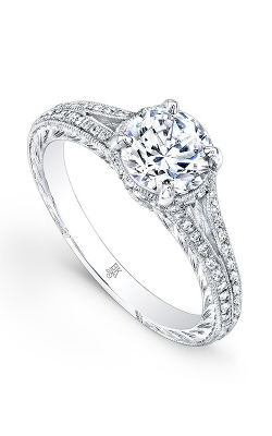 Beverley K Split Shank Engagement Ring R1229A-DDCZ product image