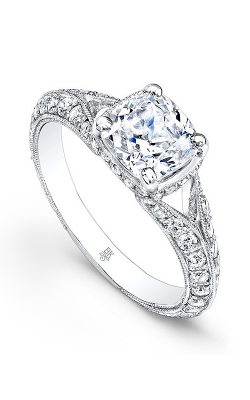 Beverley K Split Shank Engagement Ring R1234A-DDCZ product image