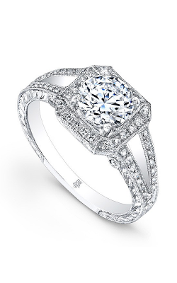 Beverley K Split Shank Engagement ring R495A-DDCZ product image
