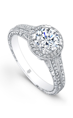 Beverley K Split Shank Engagement Ring R658A-DDCZ product image