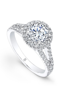 Beverley K Split Shank Engagement ring R9136A-DDCZ product image