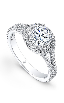 Beverley K Split Shank Engagement ring R9161A-DDCZ product image