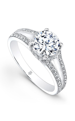 Beverley K Split Shank Engagement ring R9202A-DDM product image