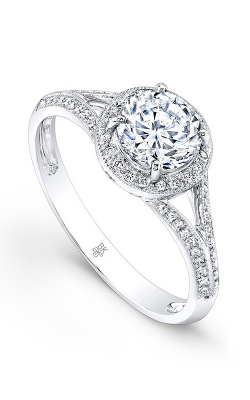 Beverley K Split Shank Engagement Ring R9412A-DDCZ product image