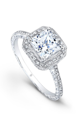 Beverley K Halo Engagement Ring R370A-DDCZ product image