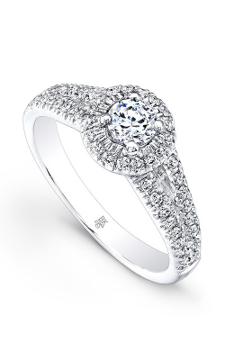Beverley K Split Shank Engagement ring RT001A-DDCZ product image