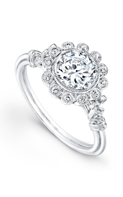 Beverley K Halo Engagement ring R376A-DDCZ product image