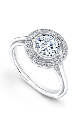 Beverley K Halo Engagement ring R391A-DDCZ product image