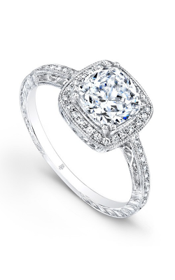 Beverley K Halo Engagement Ring R864AWF-DDCZ product image