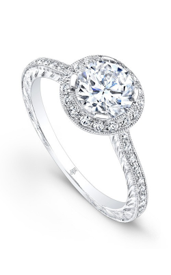 Beverley K Halo Engagement Ring R9029A-DDCZ product image