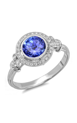 Beverley K Halo Engagement Ring R9409A-DDTZ product image