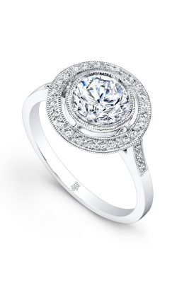 Beverley K Halo Engagement Ring R9424A-DDCZ product image